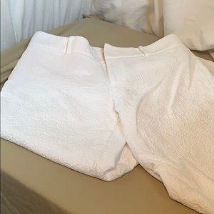 Club Monaco Capri pants with texture fabric size 2
